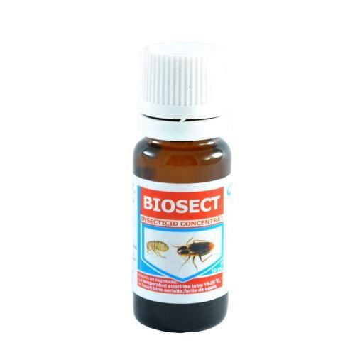 Insecticid concentrat Biosect 10ml.