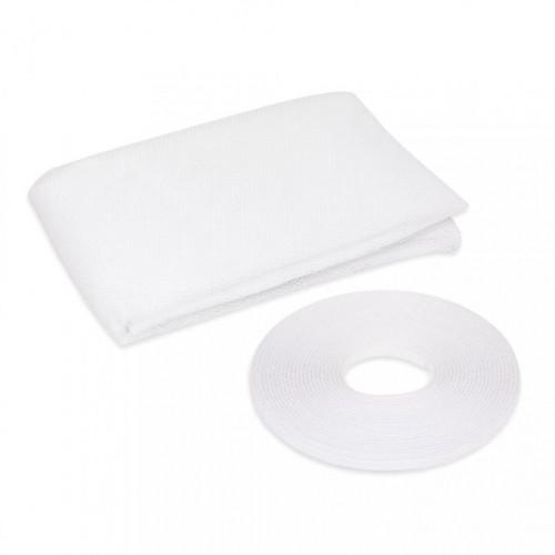 Plasa anti insecte pentru ferestre 100x100 alb , anti muste,anti tantari