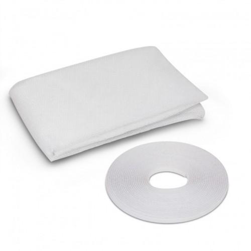 Plasa anti insecte pentru ferestre 130x130 alb, anti muste,anti tantari