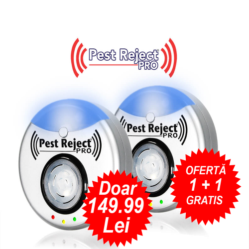 0ferta Pest Repeller -  1 + 1 Gratis Pest Reject Pro anti rozatoare si insecte