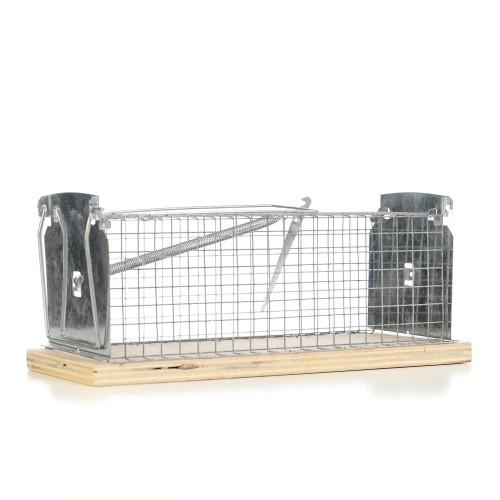 Capcana cusca pentru capturarea vie a sobolanilor 29x12x12 cm