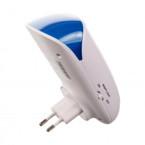 5 in 1 Pest Repeller -aparat cu ultrasunete si unde electromagnetice impotriva rozatoarelor si insectelor taratoare