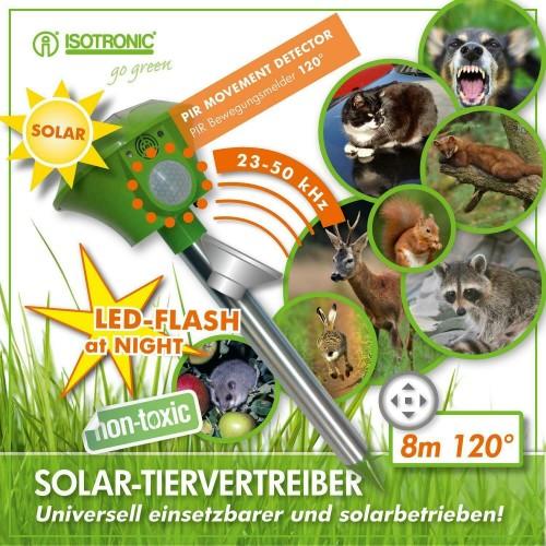 Isotronic Solar Repeller Diamond -  alunga rozătoare, cartite, șerpi, jderi, păsări și raconi
