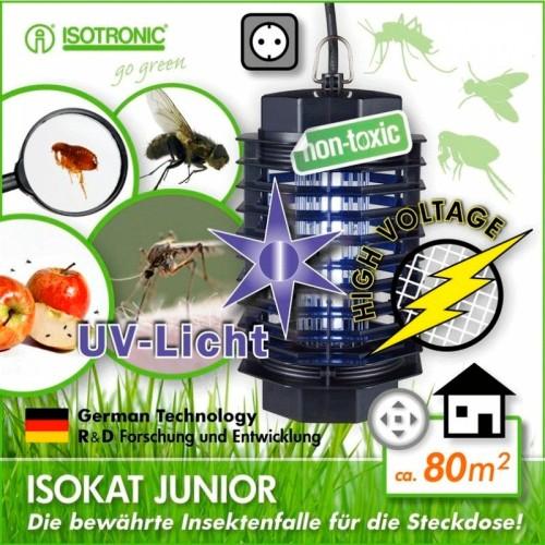 Isokat Junior - Aparat anti insecte,anti muste anti tantari cu lampi UV