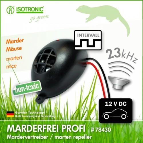 Marder Frei Profi–Generator ultrasunete alungare rozatoare