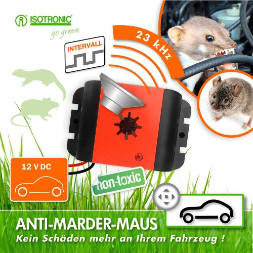 Aparat anti rozatoare auto Car Animal Repeller