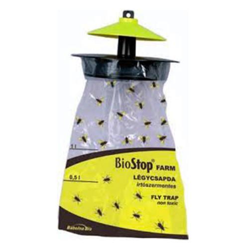 Capcana pentru muste cu momeala atractanta BioStop Farm