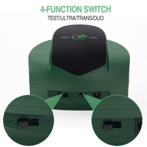 Aparat profesional cu ultrasunete si pulsuri ultrasonice pentru alungarea rozatoarelor Duo Pro Ultrasonic Pest Repellent