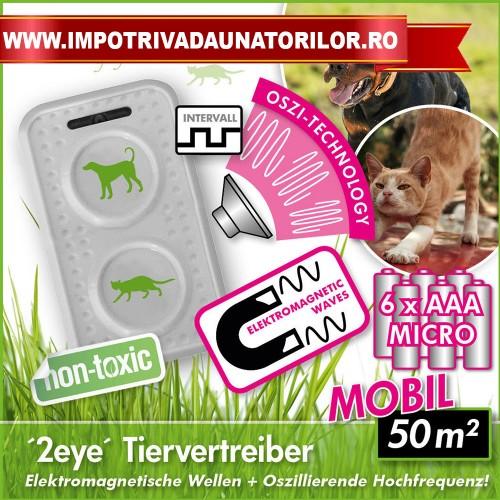 Aparat anti caini si pisici mobil Isotronic 92400