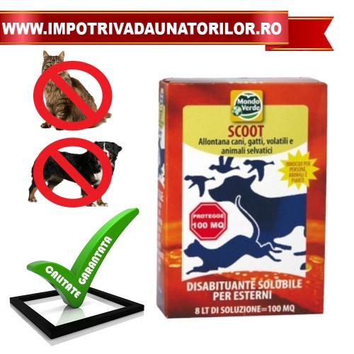 Praf solubil pentru alungarea cainilor,pisicilor REP01