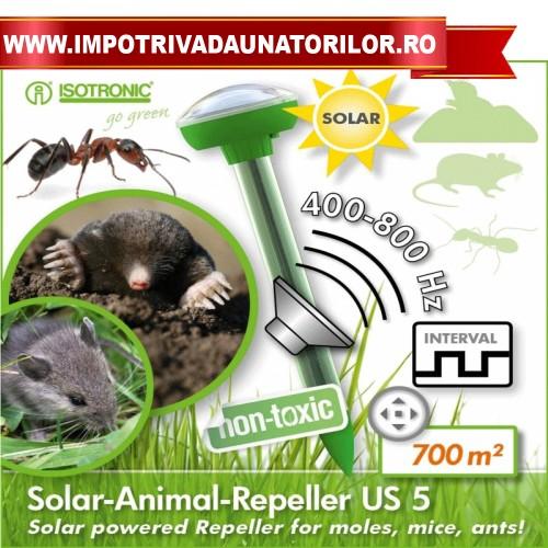 Aparat anti cartite cu alimentare solara US5